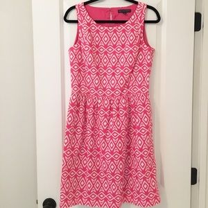 Dresses & Skirts - Brooks Brothers Bright Pink Sleeveless Dress (8)
